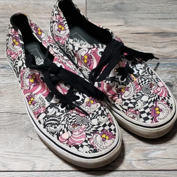 VANS Cheshire Cat Disney Alice in Wonderland shoes